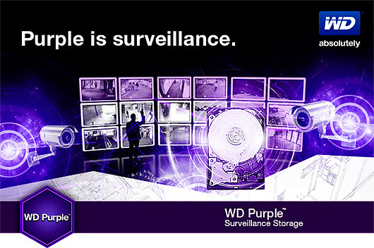 WD Purple - dyski twarde do monitoringu